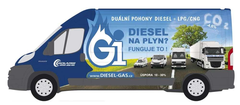 Dieselgas NM+LPG