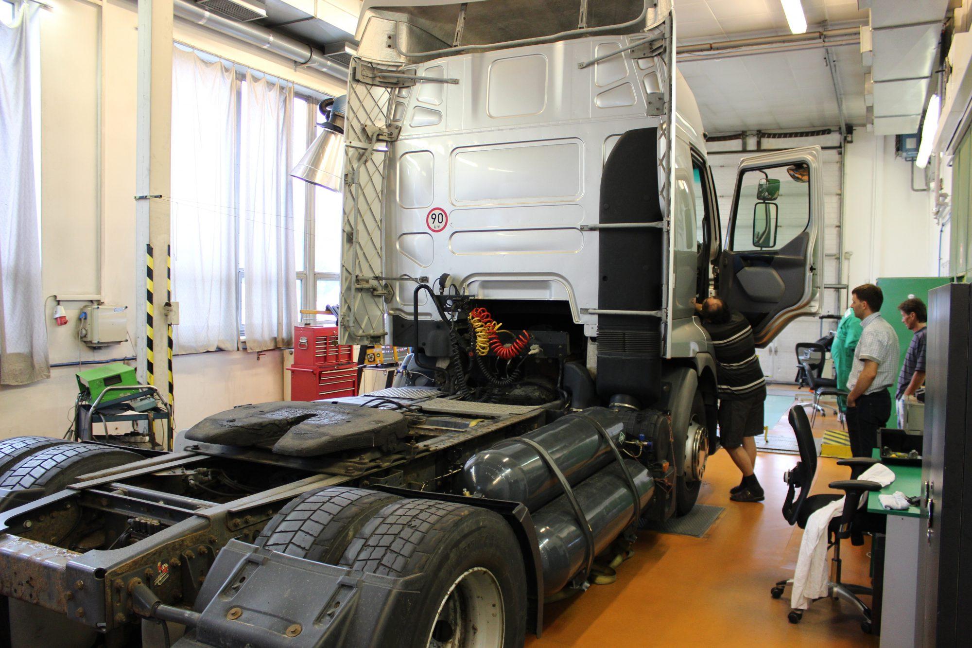 Renault Premium dual fuel dieselgas cng