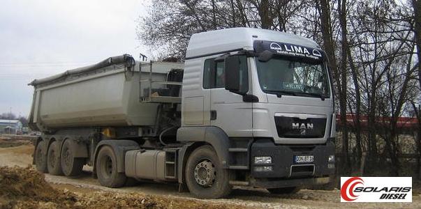 MAN TGA diesel+lpg