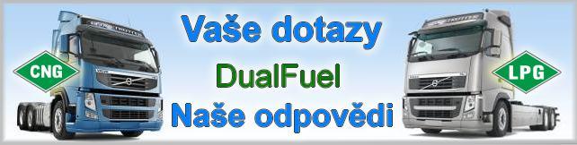 Dotazy a odpovědi Diesel Gas LPG a CNG