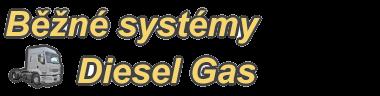Běžné systémy Diesel gas
