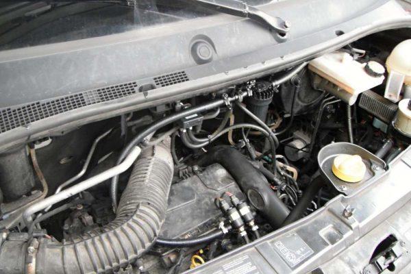 Renault Master diesel LPG