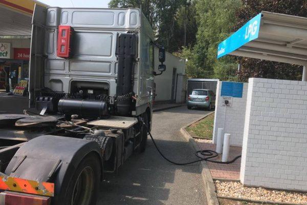 DAF XF 105 Dual Fuel Diesel LPG