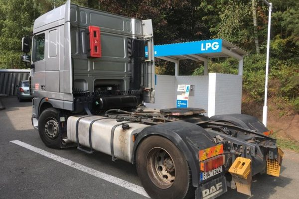 DAF XF 105 Dual Fuel NM+LPG