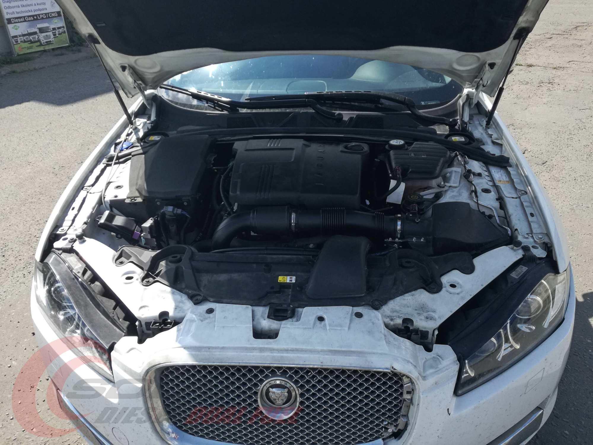 Jaguar 2.2 diesel na duální pohon diesel+LPG